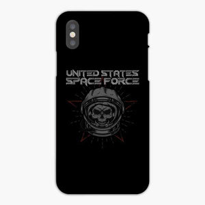 United States Space Force Skull iPhone X Case, Snap 3D Case
