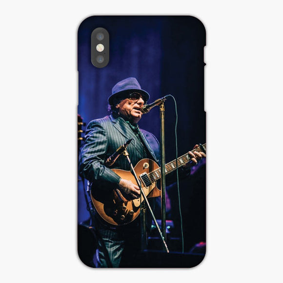 Van Morisson Live Perform iPhone XS Case
