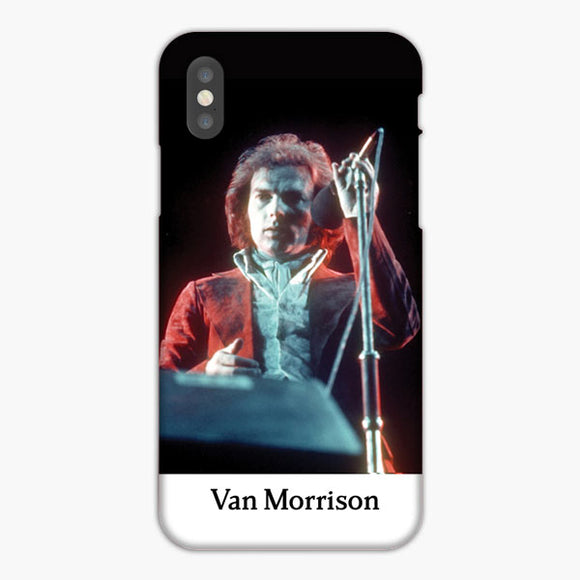 Van Morisson Portrait iPhone X Case