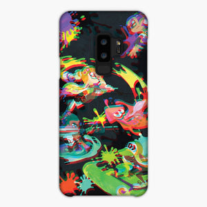 Vaporwave Splatoon Samsung Galaxy S9 Plus Case, Snap Case 3D Print