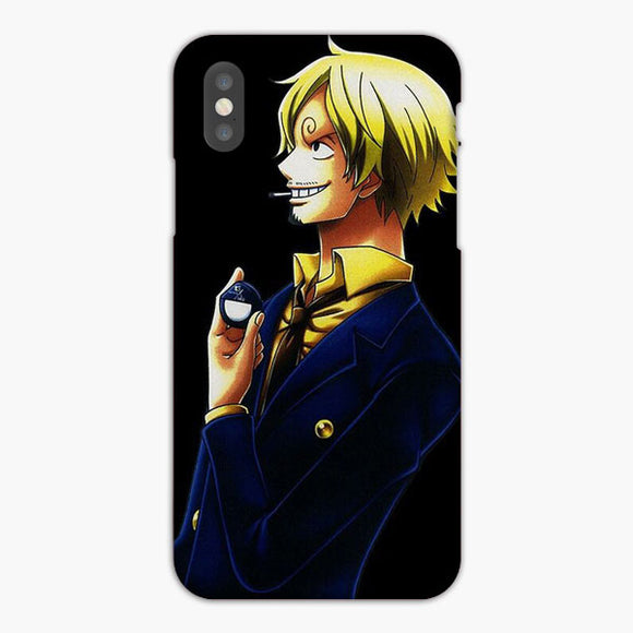 Vinsmoke Sanji One Piece World iPhone X Case, Plastic Case, Snap Case & Rubber Case