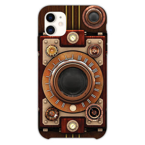 Vintage Steampunk Camera iPhone 11 Case