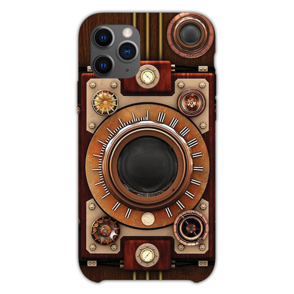 Vintage Steampunk Camera iPhone 11 Pro Case