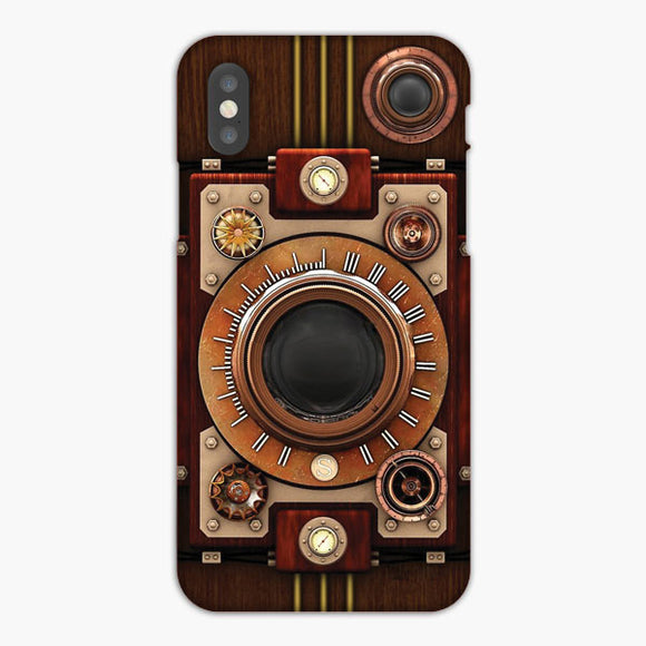 Vintage Steampunk Camera iPhone 8 Case
