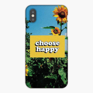 Vsco Choose Happy Wallpaper iPhone X Case