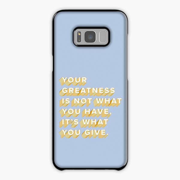 Vsco Motivational Quote Wallpaper Samsung S8 Case Galaxy S8 Cover Plastic Snap Rubber