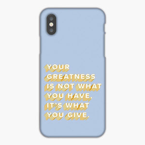 Vsco Motivational Quote Wallpaper iPhone XS Max Case