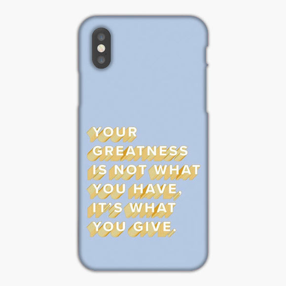 Vsco Motivational Quote Wallpaper iPhone XR Case