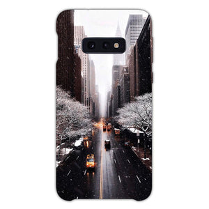 Vsco New York Autumn Wallpaper Samsung Galaxy S10e Case, Snap Case 3D Print