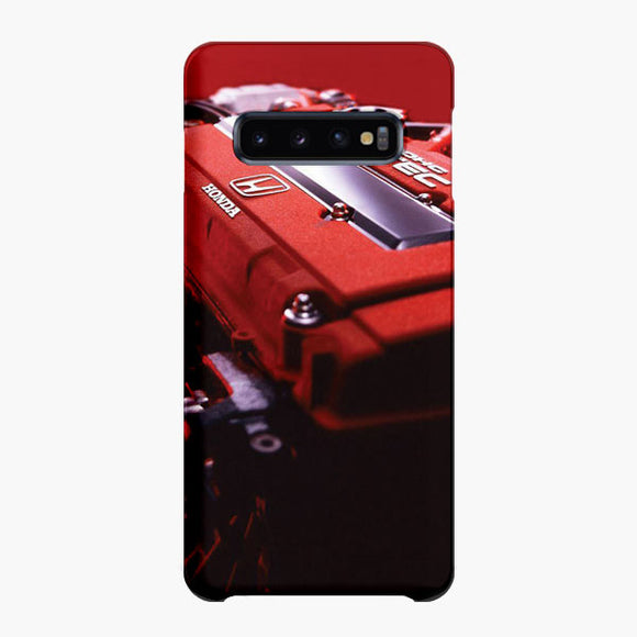 Vtec Engine Samsung Galaxy S10 Plus Case, Snap Case 3D Print