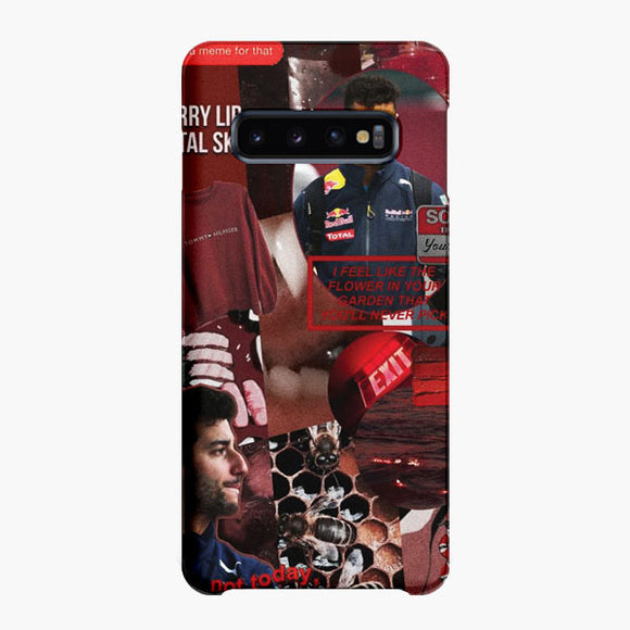 Wanna Fight Daniel Ricciardo Samsung Galaxy S10 Case, Snap Case 3D Print