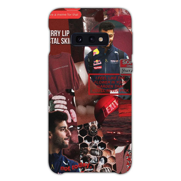 Wanna Fight Daniel Ricciardo Samsung Galaxy S10e Case, Snap Case 3D Print