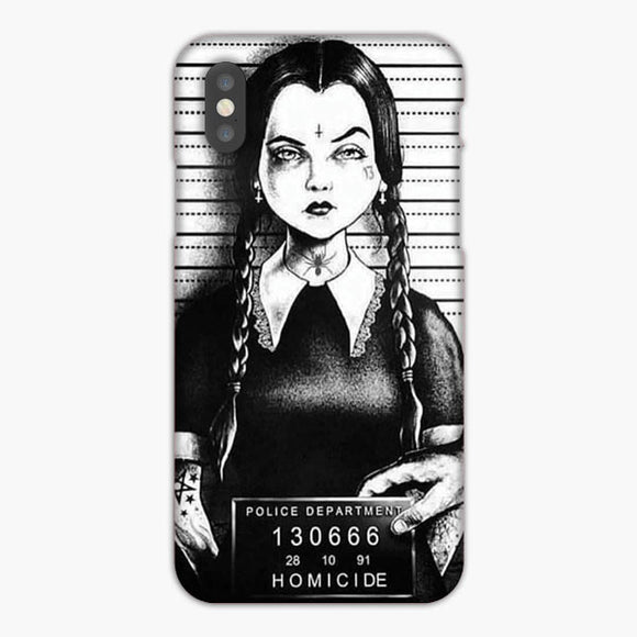 Wednesday Addams Mug Shot iPhone 7 Case