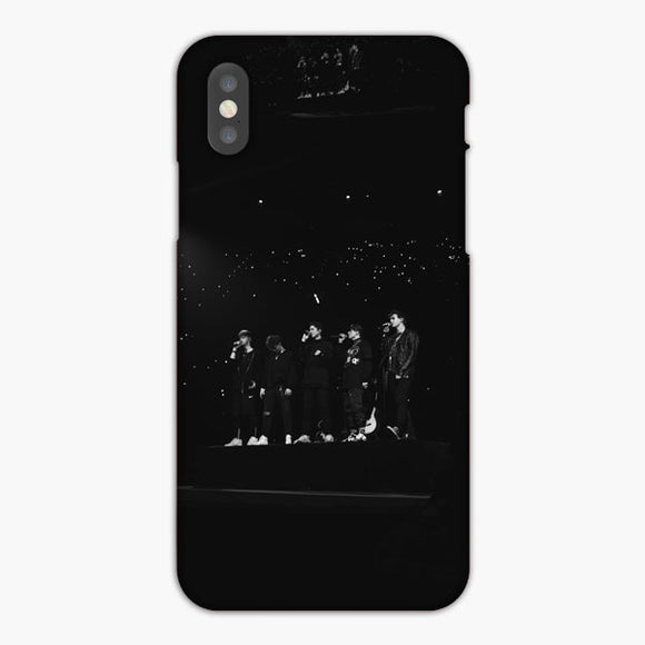 Why Don T We Limelight Silhouette iPhone X Case, Plastic Case, Snap Case & Rubber Case
