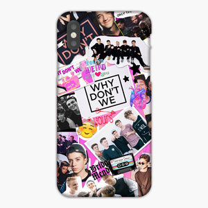 Why Don t We 3 iphone case