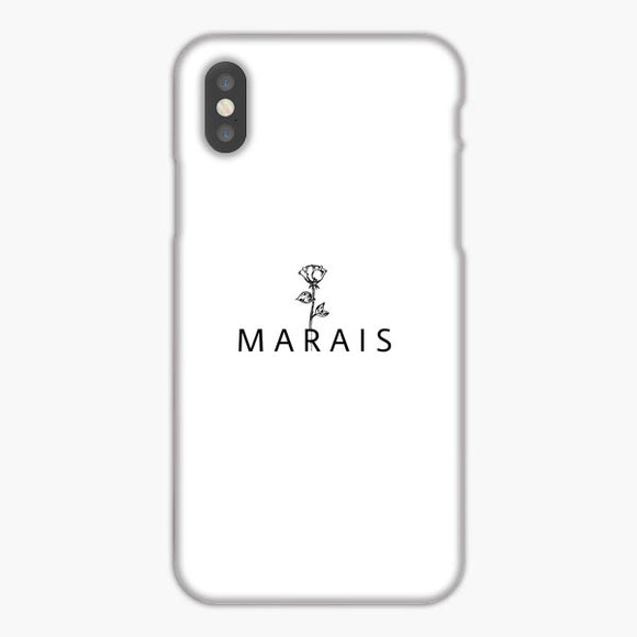 Why Don't We Jonah Marais Rose iPhone XS Max Case, Plastic Case, Snap Case & Rubber Case