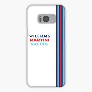 Williams Martini Racing F1 Samsung Galaxy S8 Case, Snap Case 3D Print