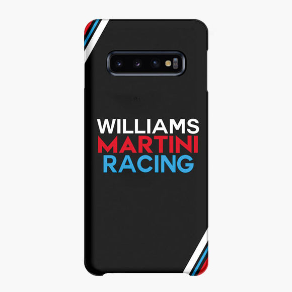 Williams Martini Racing Formula One Samsung Galaxy S10 Plus Case, Snap Case 3D Print