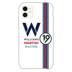 Williams Martini Racing Ideias Automobilismo iPhone 11 Case
