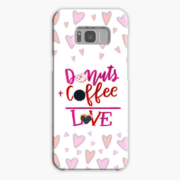 Your Dunkin' Love This Valentine's Day Samsung Galaxy S8 Plus Case, Plastic Case, Snap Case & Rubber Case