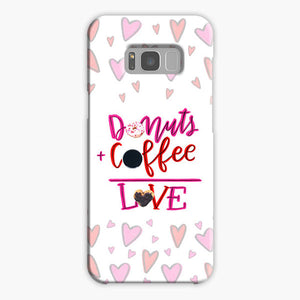 Your Dunkin' Love This Valentine's Day Samsung Galaxy S8 Case, Plastic Case, Snap Case & Rubber Case