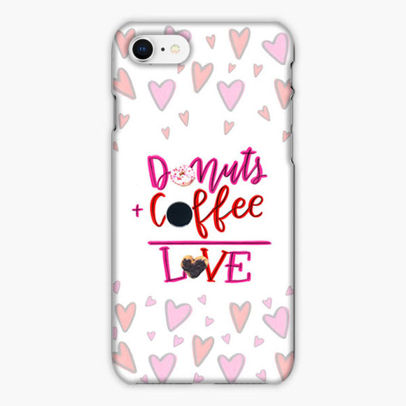 Your Dunkin' Love This Valentine's Day iPhone 8 Case, Plastic Case, Snap Case & Rubber Case