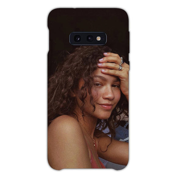 Zendaya No Make Up Samsung Galaxy S10e Case, Snap Case 3D Print