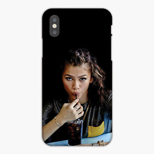 Zendaya Sucking Straw iPhone XS Max Case