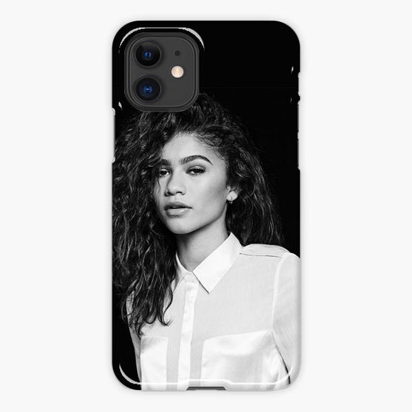Zendaya White Black iPhone 11 Case
