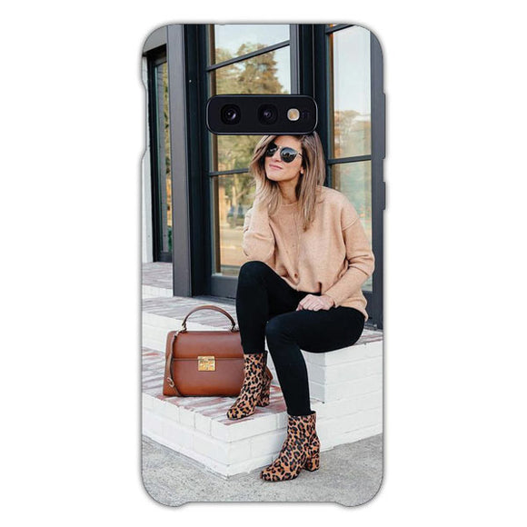 Zoe Sugg On Social Media Samsung Galaxy S10e Case, Snap Case 3D Print