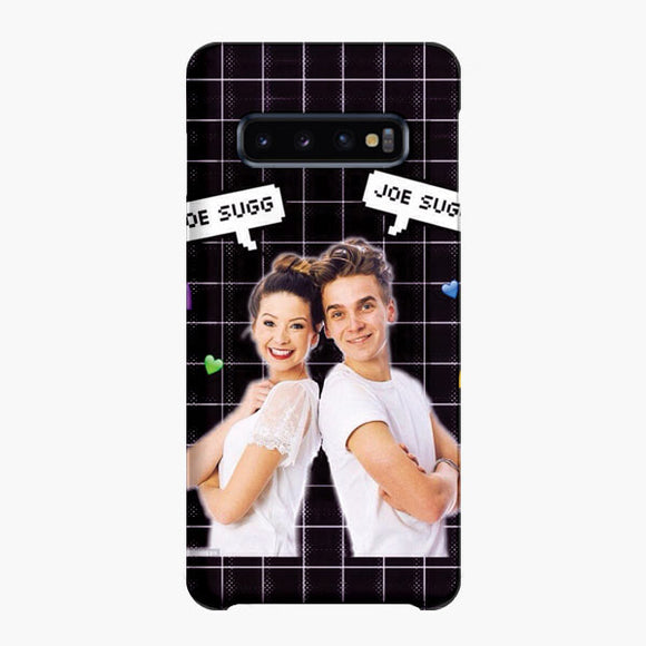 Zoella And Joe Sugg Samsung Galaxy S10 Plus Case, Snap Case 3D Print