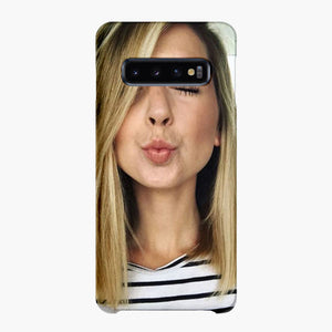 Zoella Wearing Specs Samsung Galaxy S10 Plus Case, Snap Case 3D Print