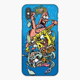 Zombie Spongebob Squidward Patrick iPhone 8 Plus Case