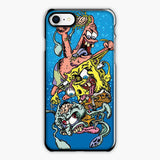Zombie Spongebob Squidward Patrick iPhone 7 Case