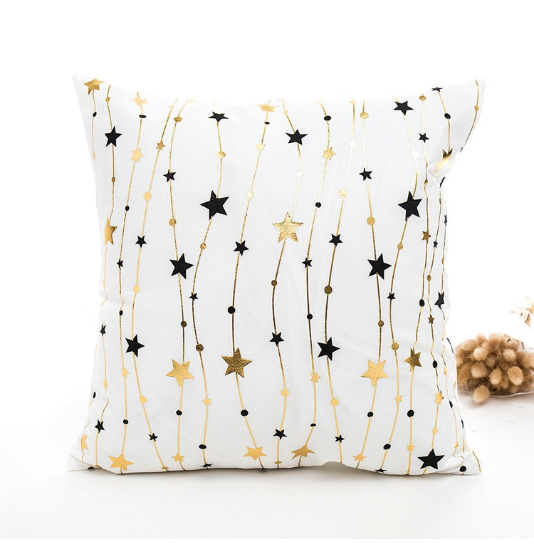 Merry Christmas Garland Lights Pillow
