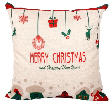 Merry Christmas Nostalgic Pillow