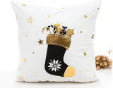 Merry Christmas Stocking Candy Cane Gifts Pillow