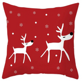 Assorted Nostalgic Cotton Christmas Throw Pillows