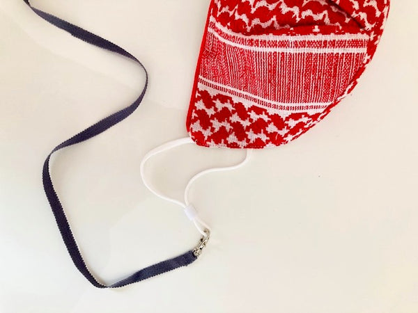 "Lead Lanyard ""Mask Holder"""
