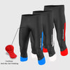 Fdx Men's 3/4 Antibacterial Gel Padded Cycling Shorts