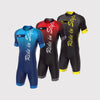 Fdx ZN Aerodynamic Triathlon Skin-suit for Cycling/Swimming/Running Race