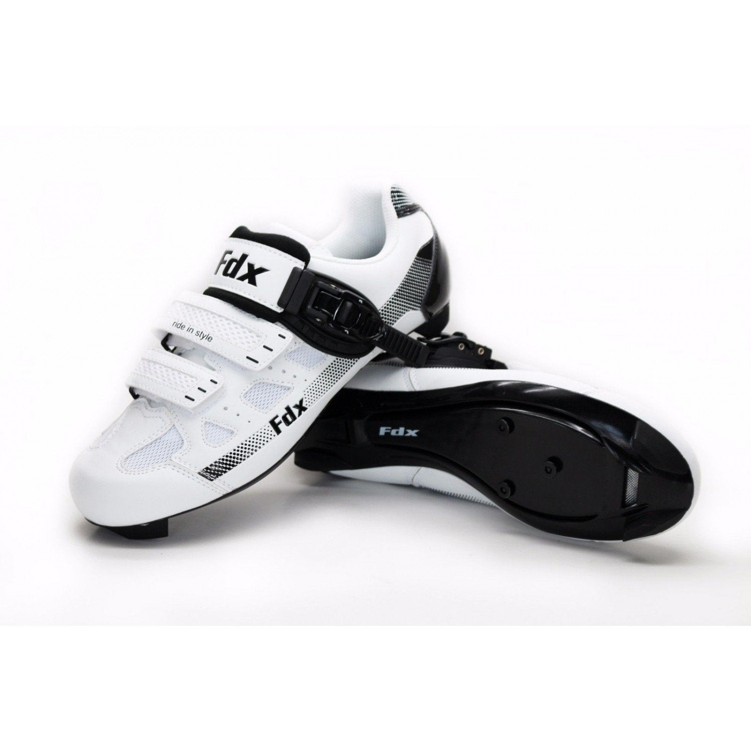 Fdx HY White Cycling Shoes