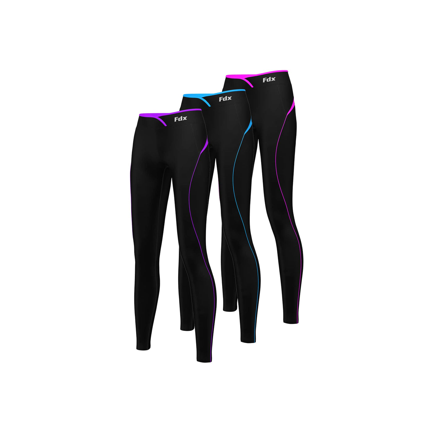 47d0141fdef9f FDX P2 Women Thermal Base Layer Compression Legging