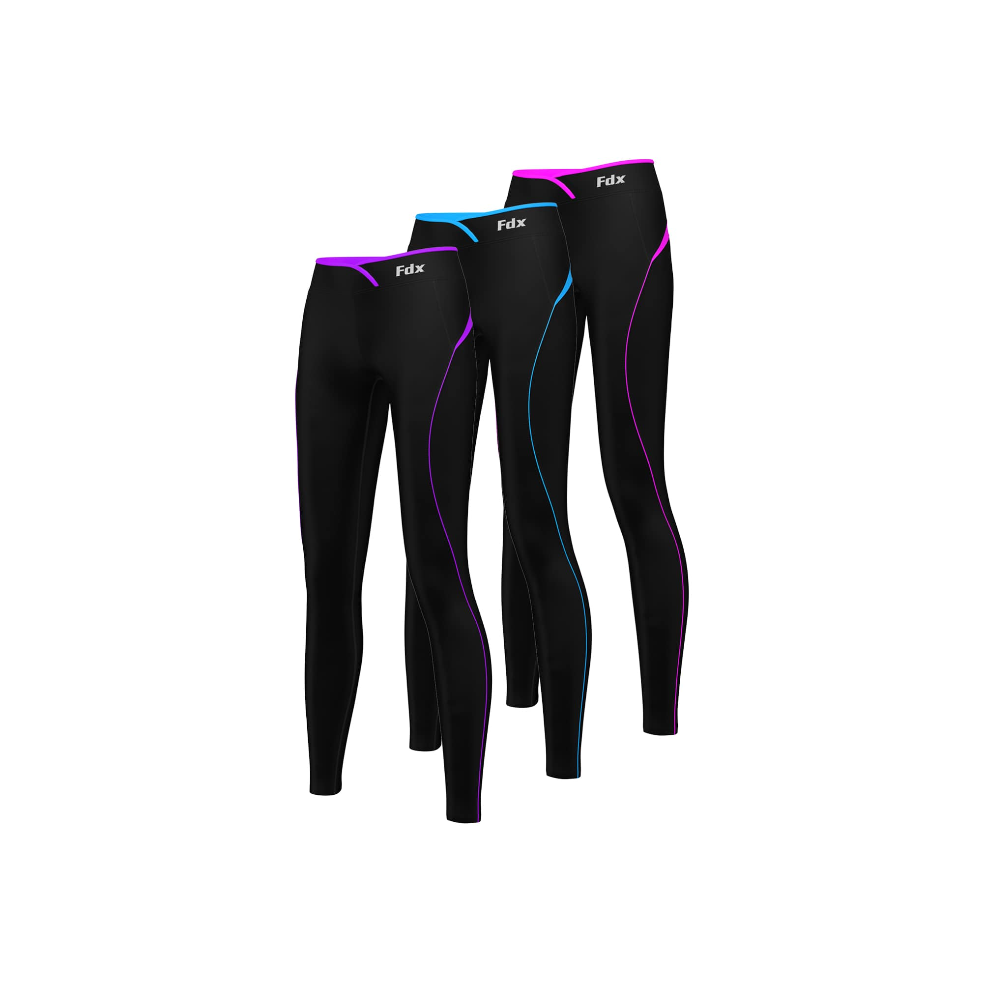 Fdx P2 Women's Thermal Base Layer Compression Legging