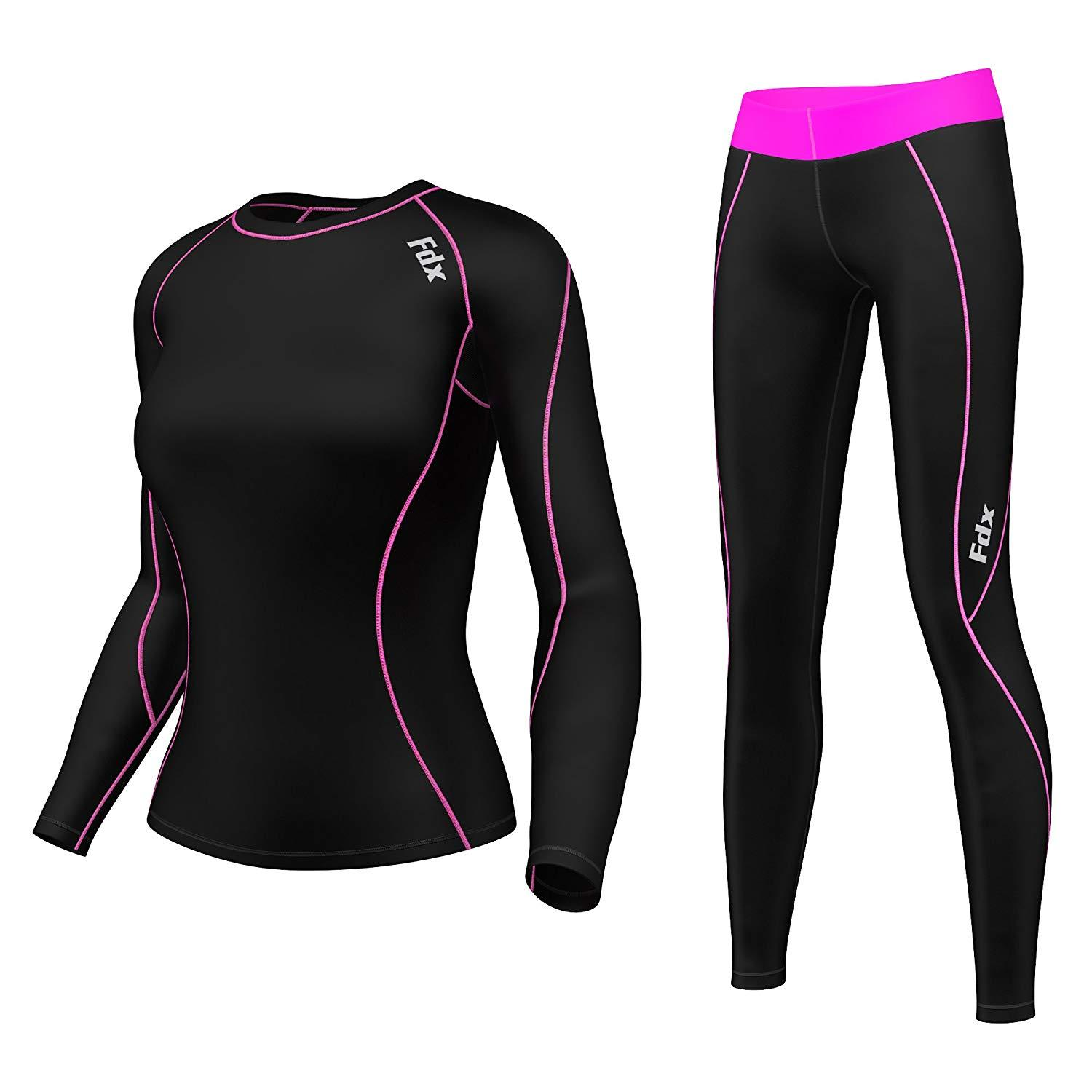 FDX S7 Women Compression Top & Legging Set