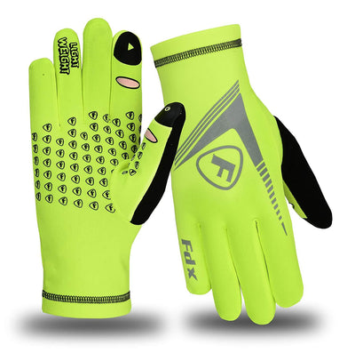 FDX Z6 Full Finger Winter Touch Screen Windproof Cycling Gloves