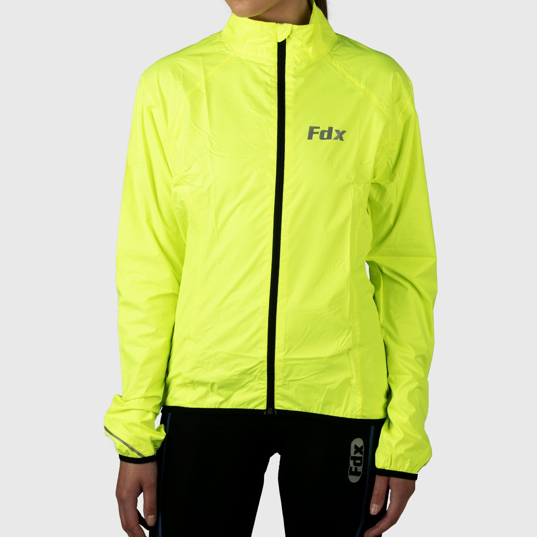 Fdx J20 Hi-Viz Windproof & Waterproof Commuters Women's Cycling Jacket