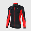Fdx G8 Thermal Long Sleeve Cycling Jersey Red