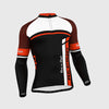 Fdx F3 Men Long Sleeve Cycling Jersey Orange