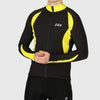 Fdx VF Men Long Sleeve Cycling Jersey Yellow